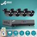 ANRAN AHD 4CH 1080N CCTV DVR Kit HD CCTV Security Camera System 4pcs 720P IR Night Vision Outdoor Survelliance Camera Kit