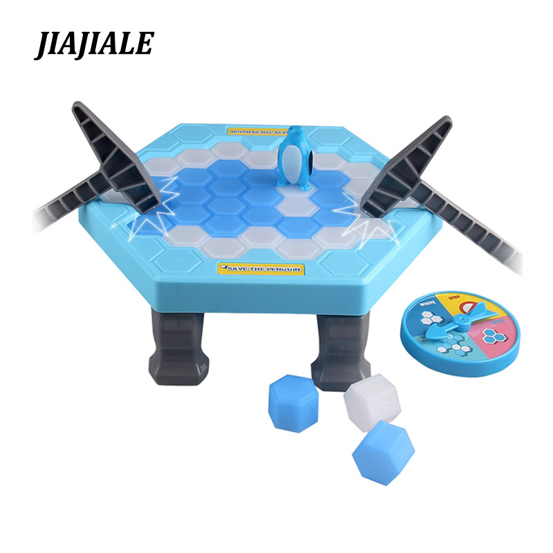 Dropshipping Family Fun Ice Breaking Save The Penguin Game Toys Kit Parent-child Table game Toys Gifts for Boy Gril Amazing Toys table football game table children s toys home large family