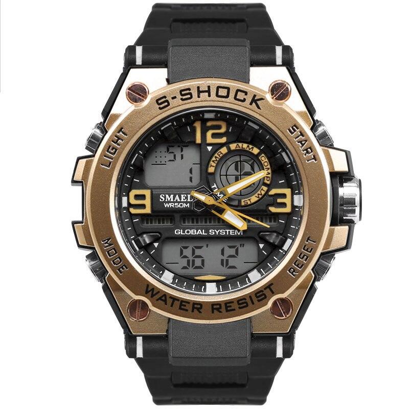 2018 NEW Fashion Casual Watch Top Brand Waterproof Quartz Watch Men Military S Shock Sports Watches Man Clock Relogio Masculino