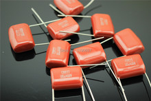 CBB22 capacitor 105J400VDC 1UF 5% thin film capacitor 1000nF fixed capacitor 30pcs Free Shipping