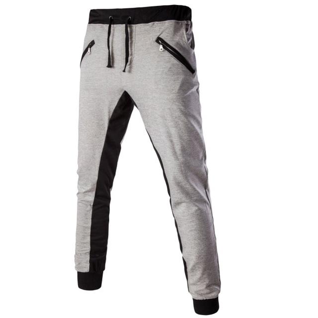 2016 Nuevos Hombres Activo Pantalones Casual Pantalones Ropa de Marca Hip Hop Pantalones Ejército Chándal Sweat Pants Slim Fit Mens Joggers