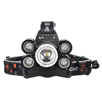 NEW Bright LED Waterproof Headlamp T6 Head Flashlight Torch Rechargeable Head Light Lamp Head for Fishing Camping Cycling