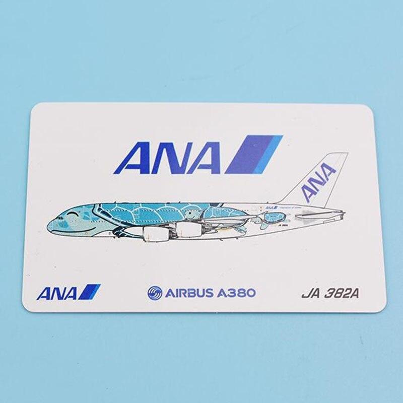 1:400 skala Airbus A380 samoloty Model samolotów ANA liniami Japan Airlines ze stopu samolot samolot kolekcjonerska manekin sklepowy kolekcja w Odlewane i zabawkowe pojazdy od Zabawki i hobby na  Grupa 3