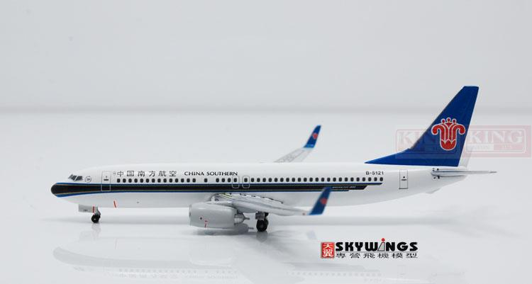 Inflight China Southern Airlines B-5121 1:400 B737-800/w commercial jetliners plane model hobby