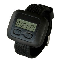 SINGCALL Wireless Calling System, Restaurant Paging Systems, Wrist Receiver. Comptablie with Single Call Button and Mulit Button