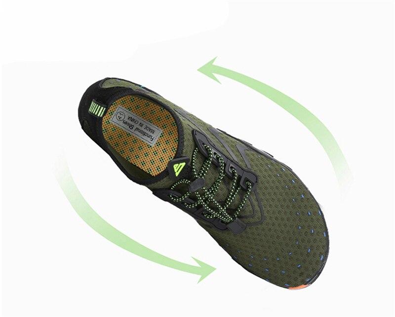 Summer Breathable Beach Sandals Aqua Men's Shoes 3