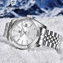 цены PAGANI 2019 New Men's Watches 100M Waterproof Automatic Machinery Watch Men Luxury Fashion Business Watch Men Relogio Masculino