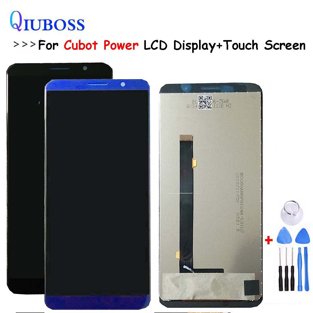 Black/Blue For Cubot Power LCD Display +Touch Screen 100% Tested Screen Digitizer Assembly Replacement+Free Tools in Stock