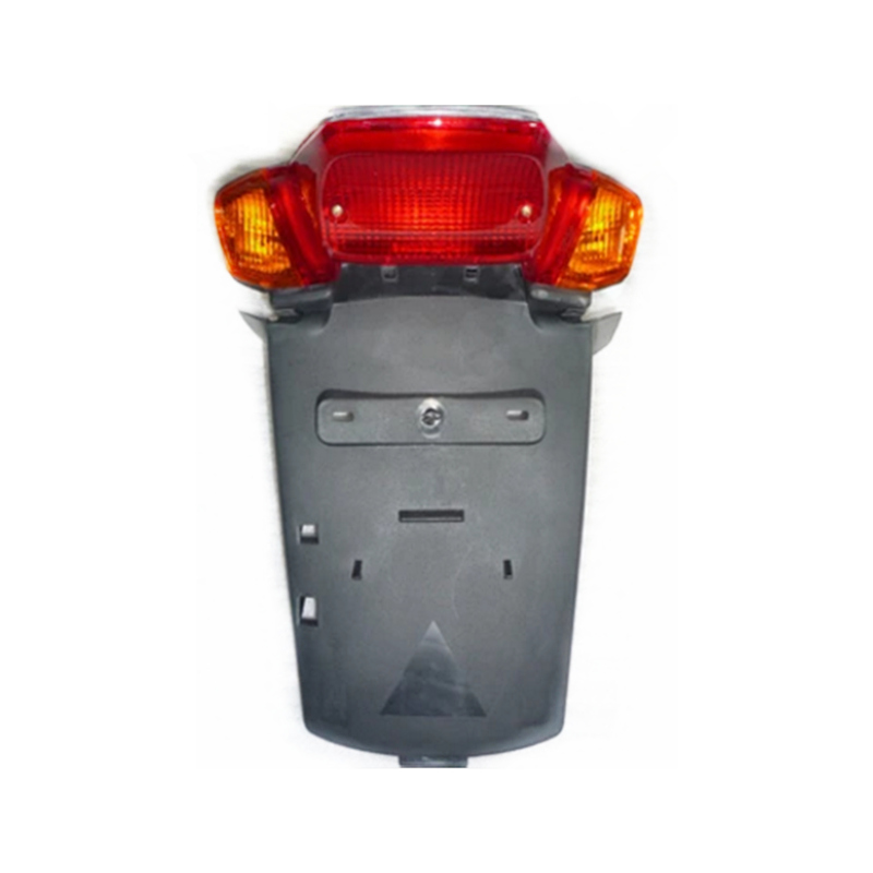 Motorcycle Accessories For YAMAHA 4VP BWS100 Motorcycle Scooter Taillight Assembly  Rear License Plate Brake Taillight