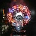 Nova recarregável multicolor Plástico Roda Gigante LEVOU cremalheira do vinho cremalheira do vinho titular levou tiro de vidro para bar pub decoração do partido barware