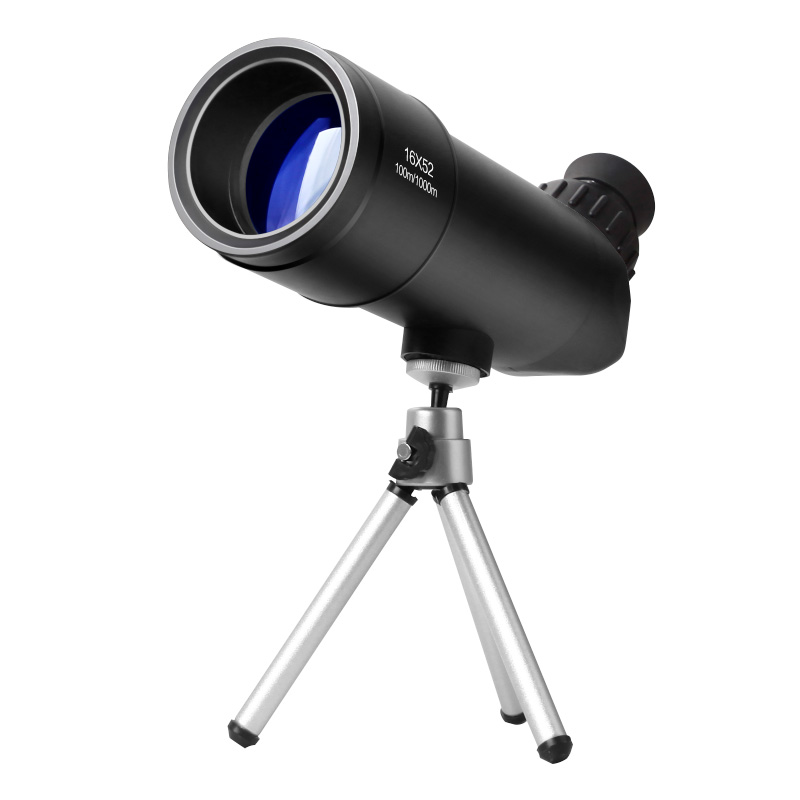 SUNCORE Traveler HD 16x52 Waterproof Monocular Refractor Space Astronomical Telescope Redfield Rampage Portable Spotting Scope brand new f90060m 900 60mm monocular refractor space astronomical telescope spotting scope 45x 675x