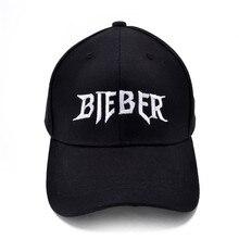 Justin Bieber favorita gorra de béisbol de verano de los hombres de algodón  de las mujeres 326b8660b1e