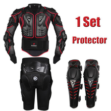 Herobiker Red font b motorcycle b font body armor motocross armour font b motorcycle b font