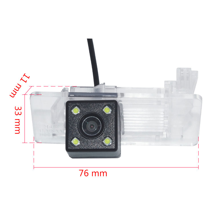 170 Wide Degree HD Special Rear View Camera For Volkswagen Touareg Tiguan Passat Santana Polo Sedan Car Reverse Backup Camera