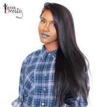 Прямо Бразильский Пучки Волос Девы 100% человеческих волос Ткачество Расширения 1 шт. натуральный черный 10-26 дюймов