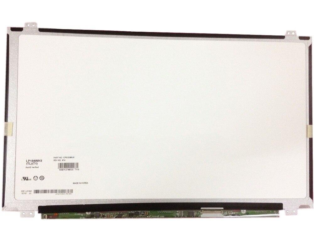 15 6 Laptop Matrix LP156WH3 TLT1 LP156WH3 TL T1 LCD Screen 40 Pins LP156WH3 TL T1