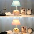 Niños Ovejas Habitación Creativa Pequeña Lámpara E14 110 V-220 V Interruptor de Botón de La Muchacha Moderna de Noche Led Lámpara de Mesa lámpara Led