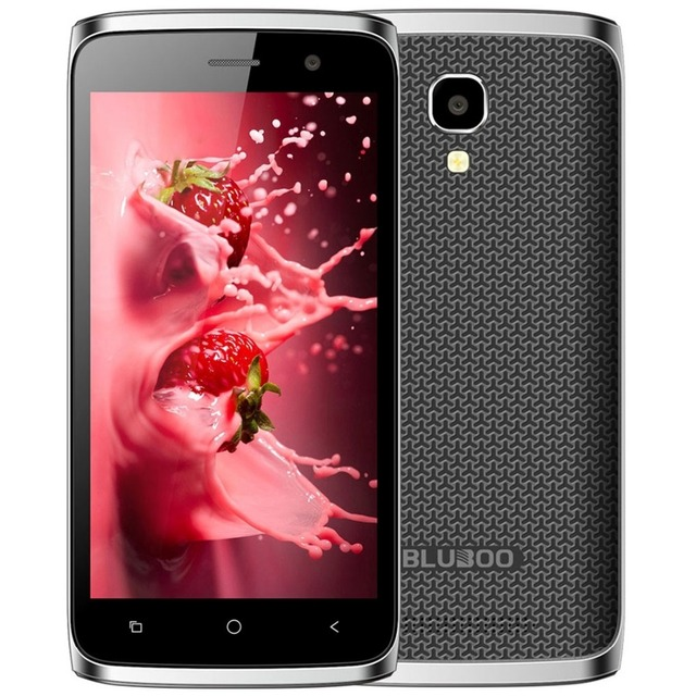 New Bluboo Mini 3G WCDMA Smartphone Android 6.0 MT6580M Quad Core 1.3GHz 1GB+8GB 5.0MP 4.5 inch IPS Screen Dual SIM Mobile Phone