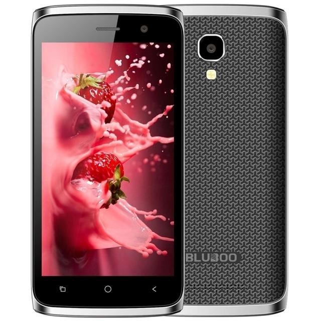 New Bluboo Mini 3G WCDMA Smartphone Android 6.0 MT6580M Quad Core 1.3GHz 1GB+8GB 5.0MP 4.5 inch IPS Screen Dual SIM Mobile Phone