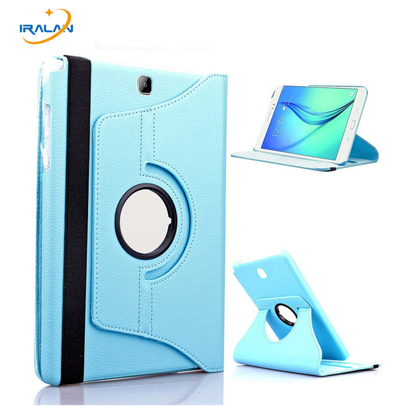 2017 Hot 360 Rotating PU Leather Tablet Case For Samsung Galaxy Tab 4 8.0 T330 T331 T335 Stand Cover free shipping+stylus pen crocodile pattern luxury pu leather case for samsung galaxy tab 4 8 0 t330 flip stand cover for samsung tab 4 8 0 t330 sm t330