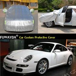 Darmowa dostawa!!! Pokrywa samochodów Anti UV śnieg deszcz odporny na zarysowania automatyczne osłony do samochodu dla Porsche 911 GT3