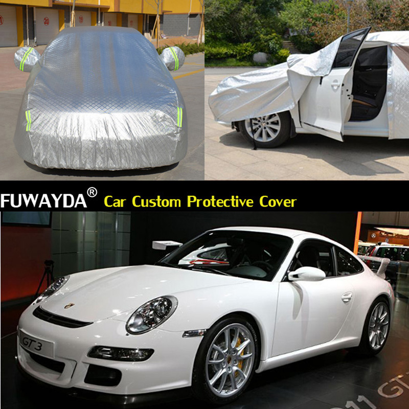 free shipping car cover anti uv snow rain scratch. Black Bedroom Furniture Sets. Home Design Ideas