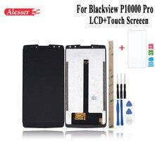 Alesser עבור Blackview P10000 Pro LCD תצוגת מסך מגע עצרת תיקון חלקי עם כלים + סרט עבור Blackview P10000 פרו