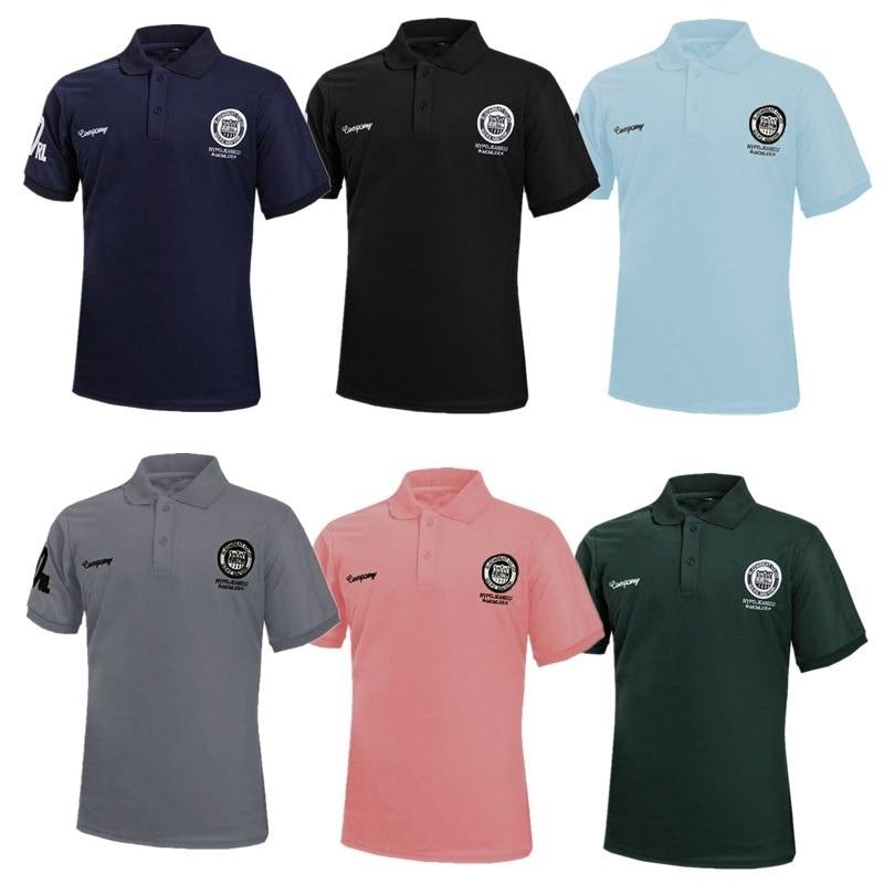 Zogaa Camisa Dos Homens do Polo de Manga Curta Multicolor Verão ... 5f55b745e6366