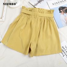 NEEDBO Shorts Women Sexy Office Ladies Summer For Hot High Waist Casual Plus Size