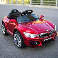 6V Children's Electric Car Four-Wheel Dual-Drive Independent Swing Remote Control Toy Car Early Education Machine Can Take Kids