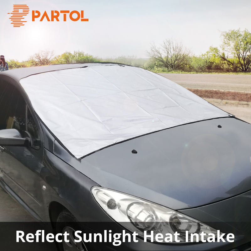 Partol Shield Visor-Cover Sunshade Car-Windshield-Cover Automobile Front-Window Universal