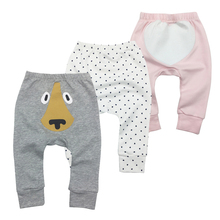 Baby Boys Girls Pants 2018 Hot cartoon Fox Pants Cotton Baby Girls Harem Pants For Baby Casual Trousers Boy Girl Clothes 2 7 yrs linen pleated kids pants hot 2018 summer girls boys pants children ankle length pants harem pants baby boy girl clothes