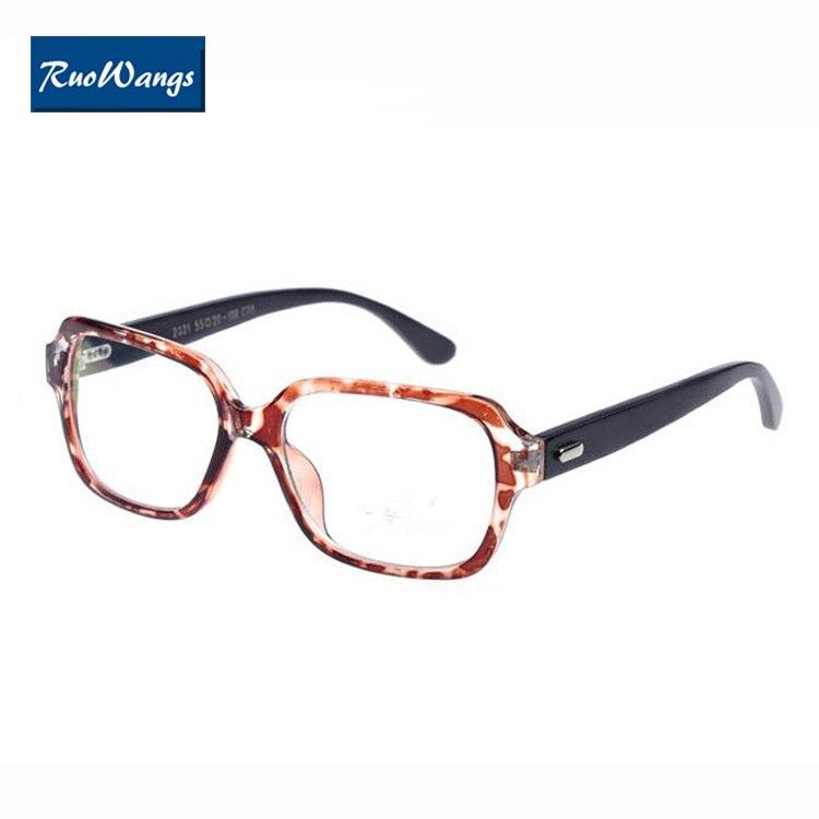 RuoWangs Handgefertigten Bambus rahmen brille frauen männer brillen ...