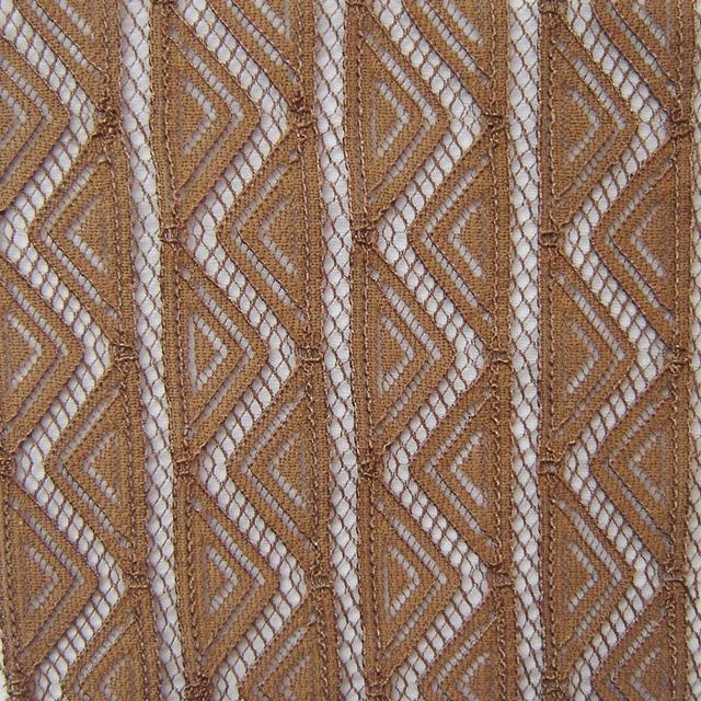1 yard Retro Fashion Show Stripe Lace Fabric French High Quality Knitted Apparel Fabric Sewing Accessory Cloth Tissu Tecidos HOT