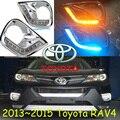 car-styling,2013~2015 RAV4 daytime light,led,Free ship!2pcs/set,RAV4 fog light;car-covers,RAV4,RAV 4