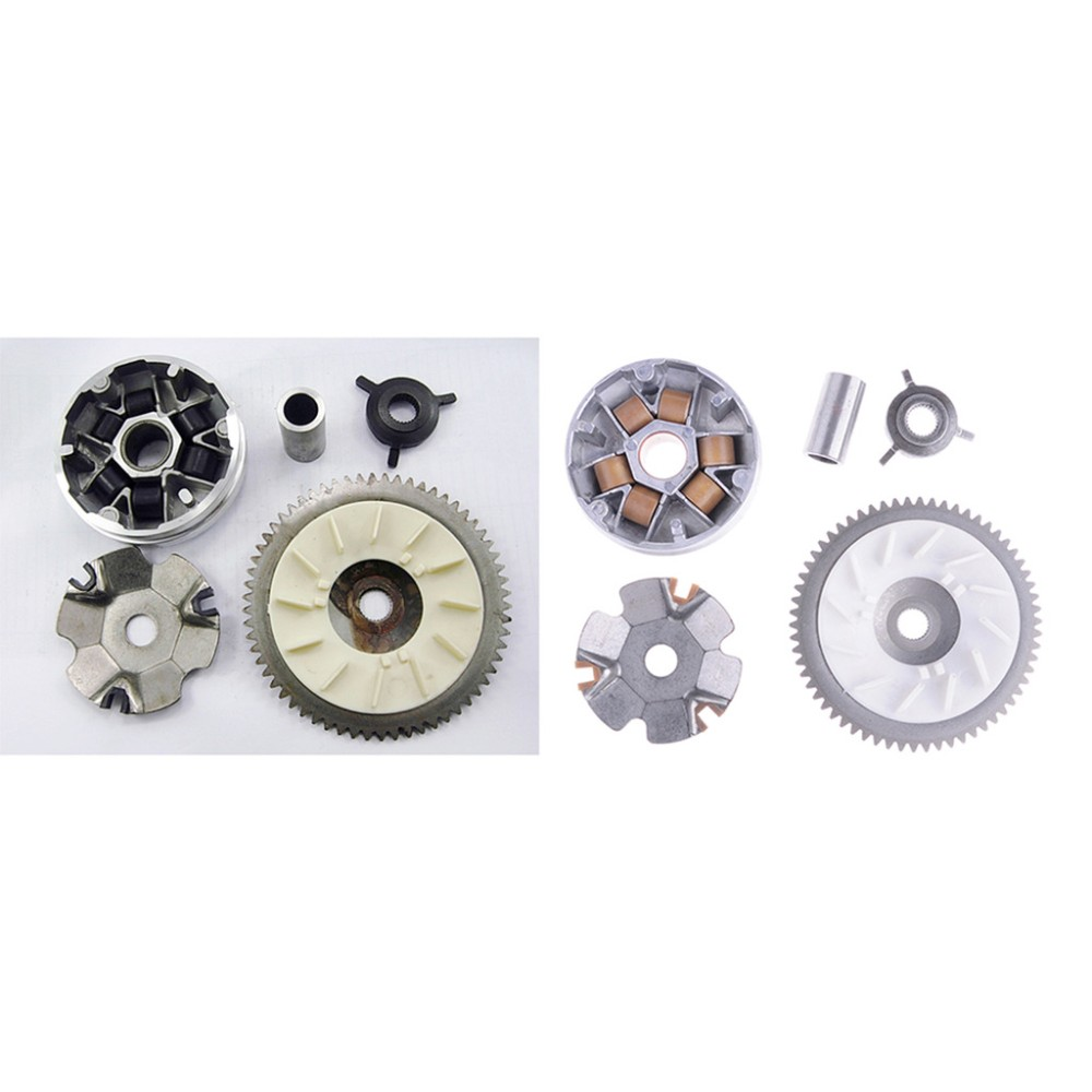 Complete 49cc 50cc Variator Kit with 8.5g Weights Gy6 Engine Qmb//139 Performance 4 Stroke Scooter