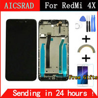 For Xiaomi Redmi 4X LCD Display Touch Screen Digitizer Assembly Replacement With Frame For Xiaomi Redmi