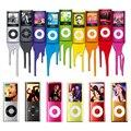 2016 Venta Caliente Delgado MP3 MP4 Reproductor de Música de 1.8 pulgadas LCD 32 GB de Memoria de la Pantalla FM Radio Reproductor de Vídeo con 9 Colores Availabe