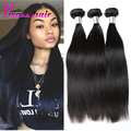 Brazilian Straight Hair Weave  8A Human Hair Brazilian Hair Weave Bundles Unprocessed Brazilian Virgin Hair Straight 3 Bundles
