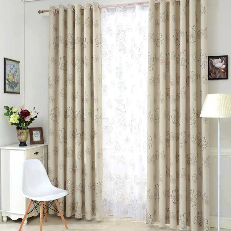 buy 2017 new luxury modern shade blackout curtains curtain set blinds drapes. Black Bedroom Furniture Sets. Home Design Ideas