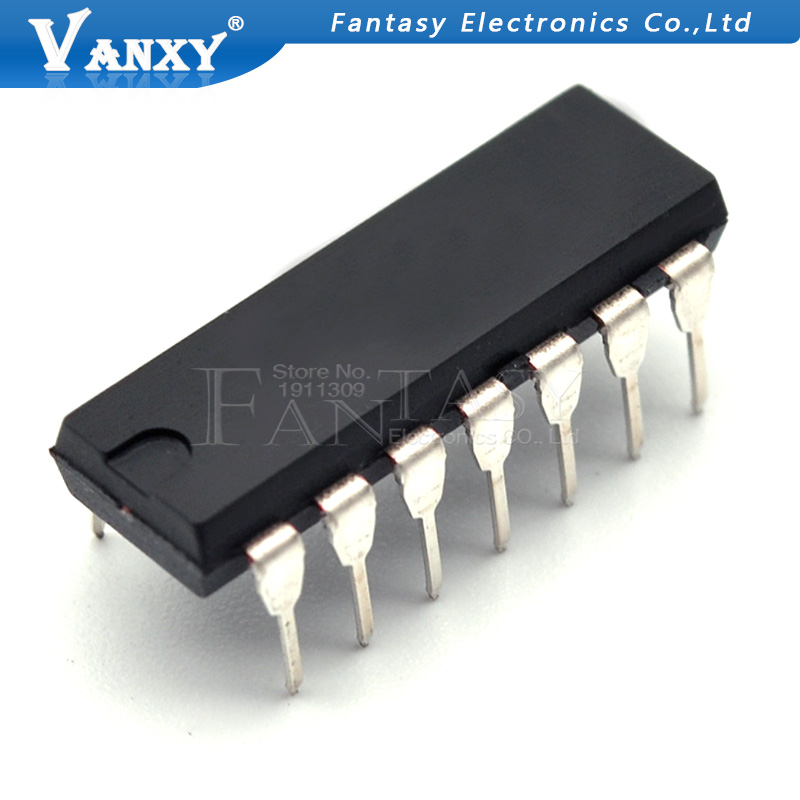 10pcs CD4023BE DIP-14 CD4023 DIP CD4023BCN DIP-14 Logic Chips
