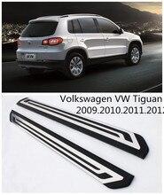 Для Volkswagen VW Tiguan 2009.2010.2011.2012 Автомобиля Подножки Авто Подножка Бар Педали Высокое Качество Европейский Стиль Nerf Бары