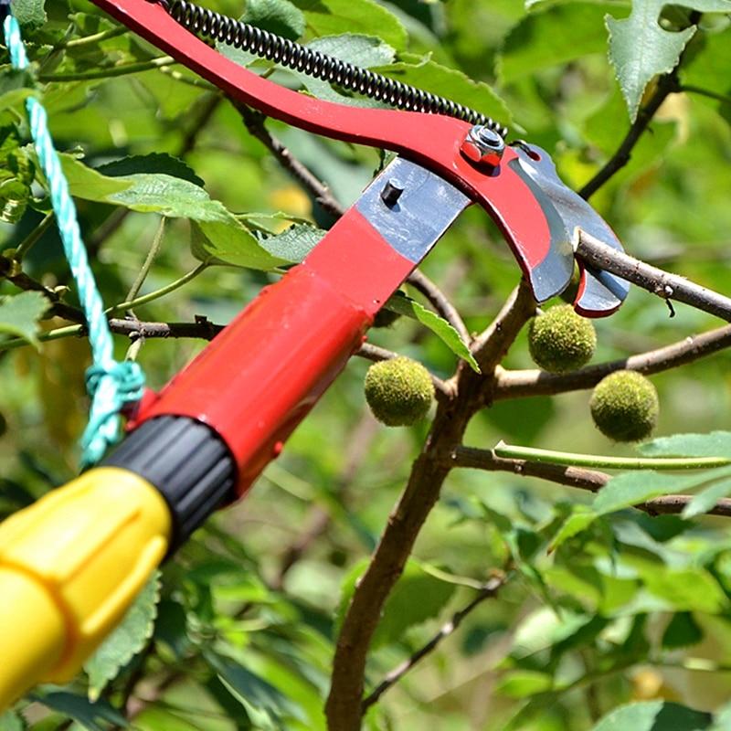 cesoie da potatura ad alta quota tagliabordi rami taglierina potatura - Utensili manuali - Fotografia 6