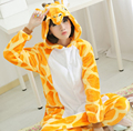 Adult Onesie Children Kigurums Giraffe Pajamas Pyjamas Jumpsuit Cosplay Costume Cartoon Animal Sleepwears Design For Toilet