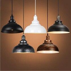 Amerykański styl Retro styl żelazny żyrandol jadalnia salon restauracja/Bar lampy dekoracyjne światła oświetlenie wewnętrzne