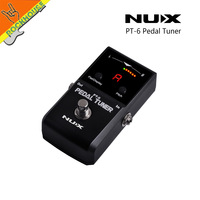 NUX Guitar Pedal Tuner Bass Pedal Tuner Pedal with Flat Tuning High Sensitivity Color LED Screen True Bypass Free Shipping