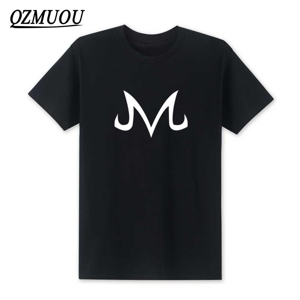 2019 New Dragon Ball Z T Shirts Babidi Logo T Shirt Men New Fashion Cotton Short Sleeve Majin Buu Shirt Tee Tops Size XS-XXL