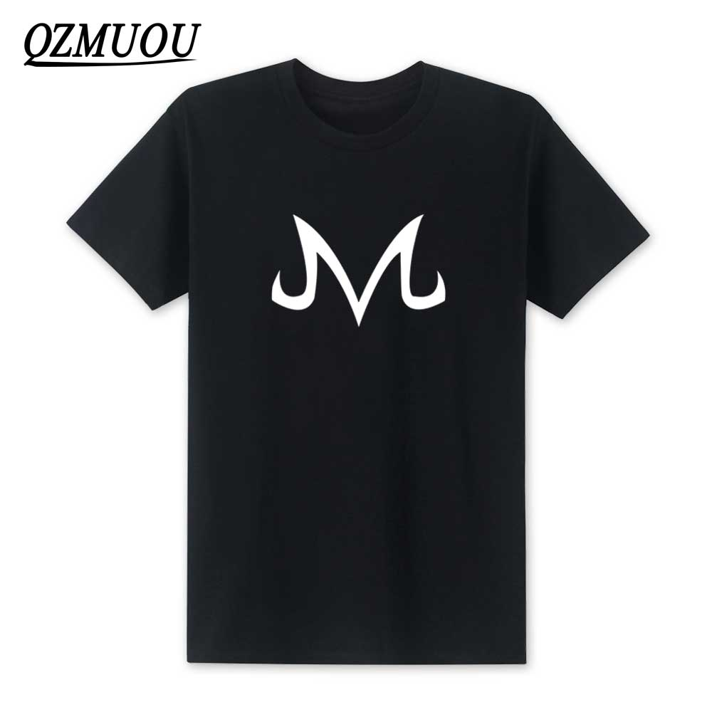 2019 New Dragon Ball Z   T     Shirts   Babidi Logo   T     Shirt   Men New Fashion Cotton Short Sleeve Majin Buu   Shirt   Tee Tops Size XS-XXL