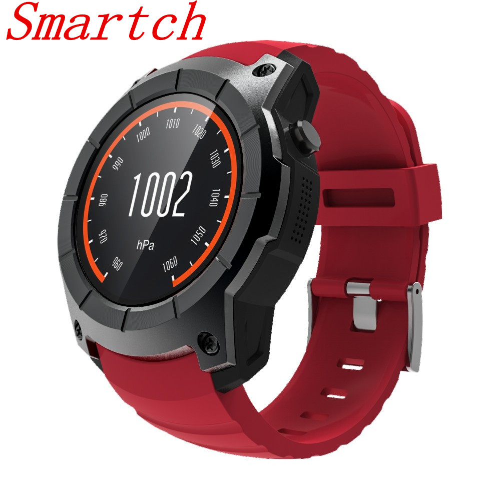 Smartch New S958 Heart Rate Tracker GPS Smart Watch Air Pressure Environment Temperature Height Sports Waterproof Watch