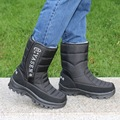 Зима снег сапоги непромокаемые сапоги мужчин плюс толстый бархат теплый прилив уличной обуви скользить Англии